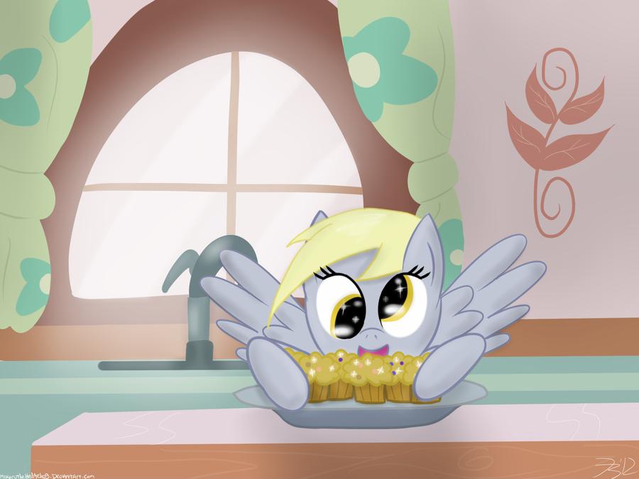 Muffins by MikorutheHedgehog