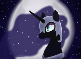 Nightmare Moon by MikorutheHedgehog
