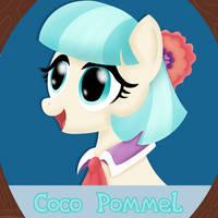 Coco Pommel by MikorutheHedgehog