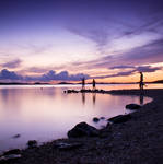 Purple Sunset by hrvojemihajlic