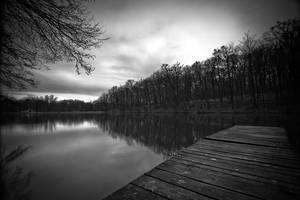 Lonely Lake I by hrvojemihajlic