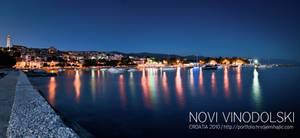 Greetings from Novi Vinodolski by hrvojemihajlic