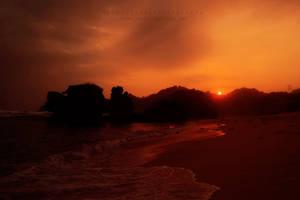 kondang merak sunset by SandzzSandy
