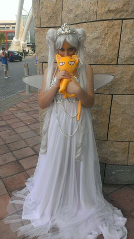 Neo queen serenity and a friend by mandyblue