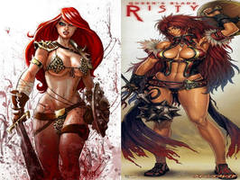 Red Sonja Vs Risty