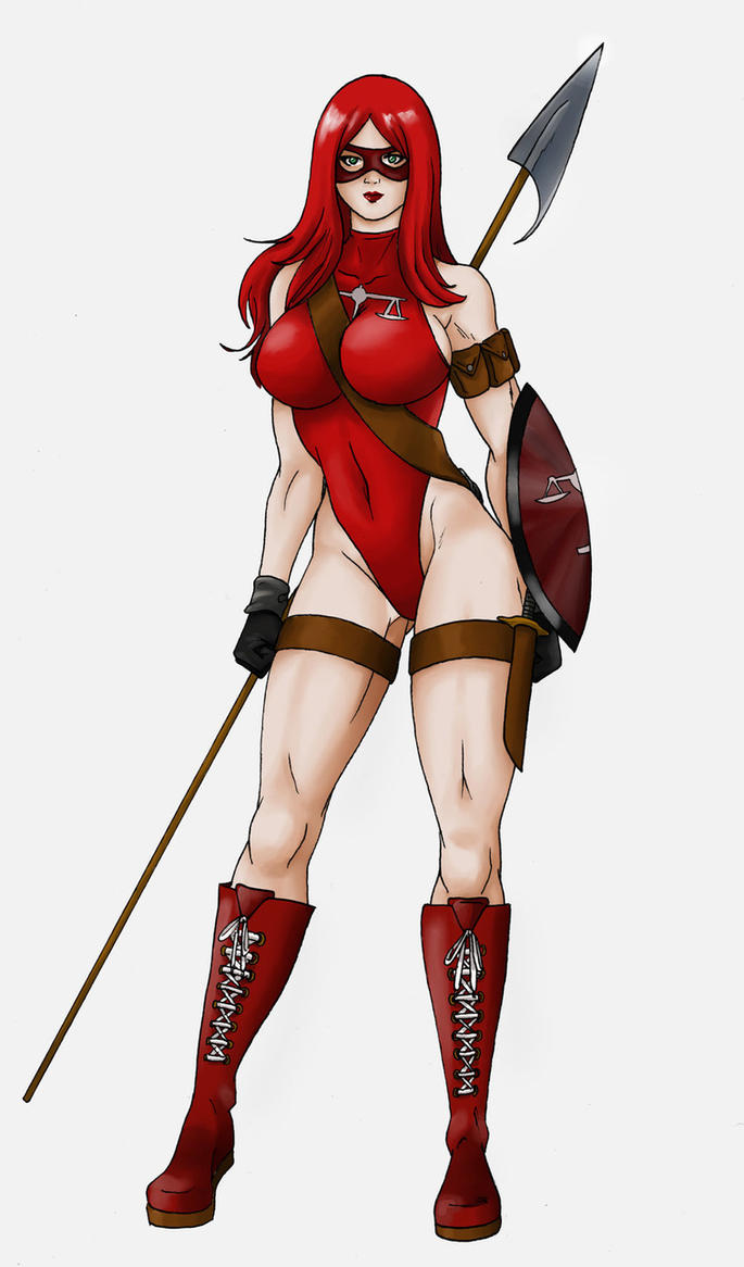 Justicia Roja/Red Justice By Nasbak-Cryman by Cityhunter77