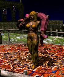 Cory vs Princess Rosalija by NoireComicsStudio
