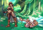Artemisa vs Jayla by psicoero by Cityhunter77