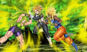Lery vs Hitoma and Barocca By Bushinryu11