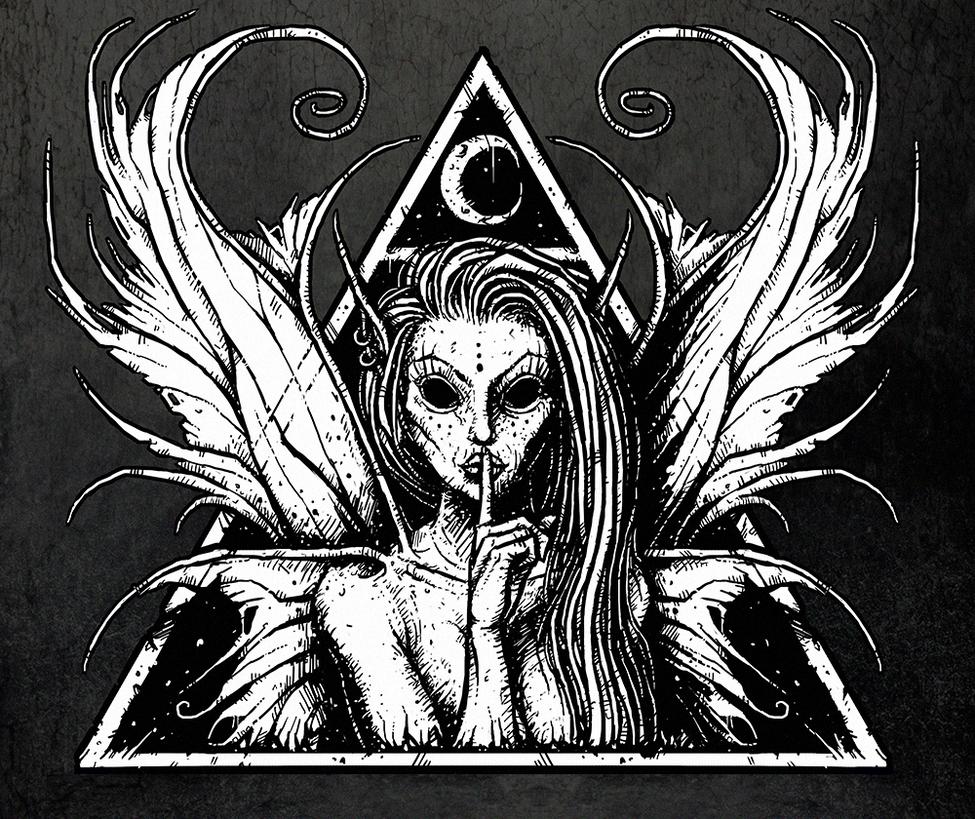 Shushing Fairy by Mesozord on DeviantArt