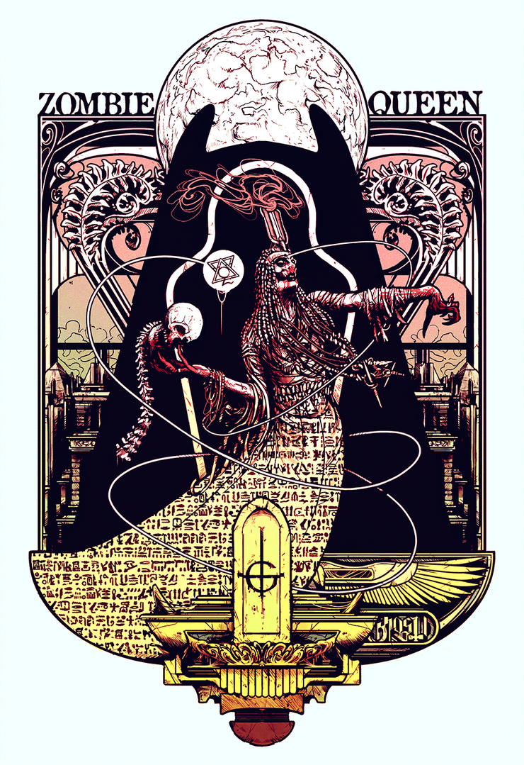 Zombie Queen by Mesozord
