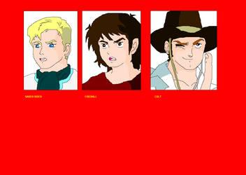 Star Sheriffs by OrokuSaki123
