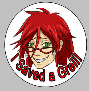 I saved a Grell button