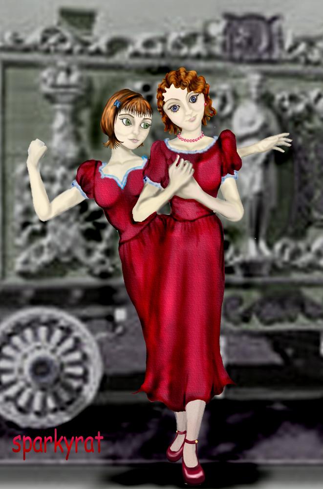 Siamese Twins by sparkyrat