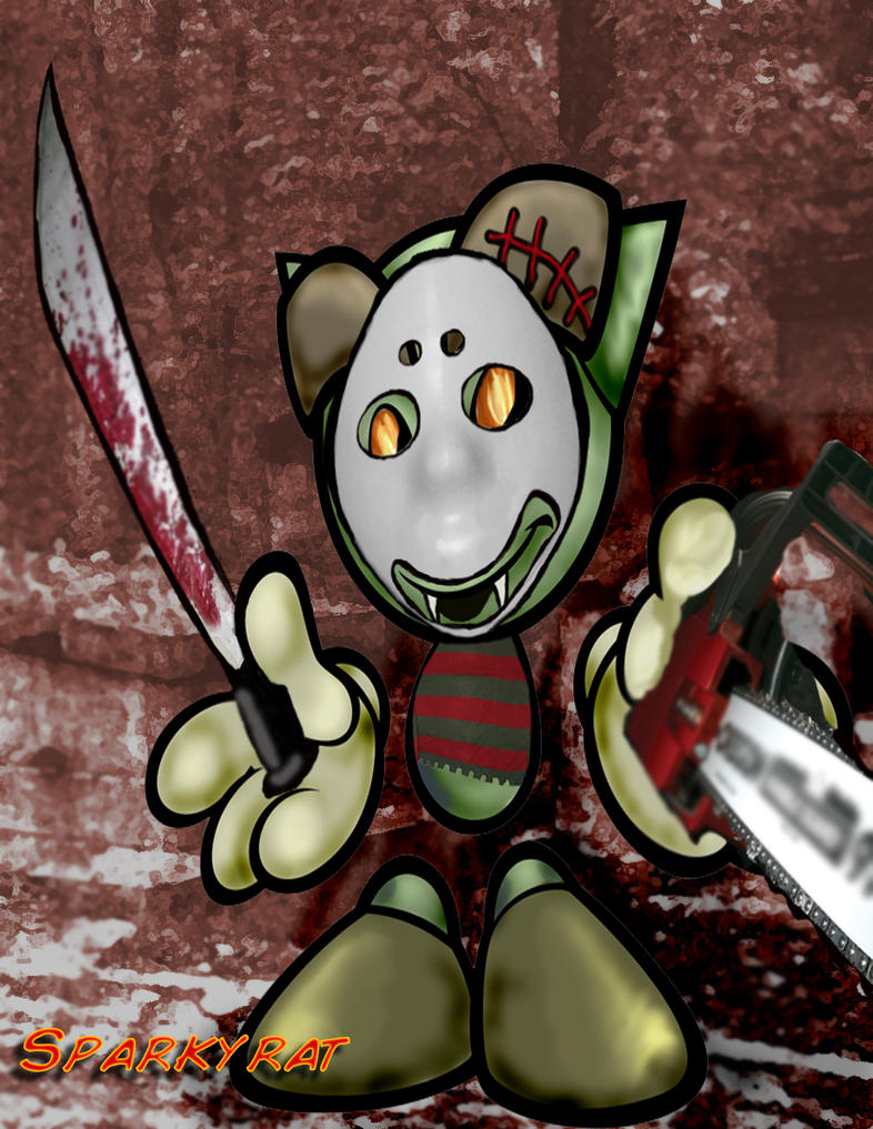 SlasherFella by sparkyrat