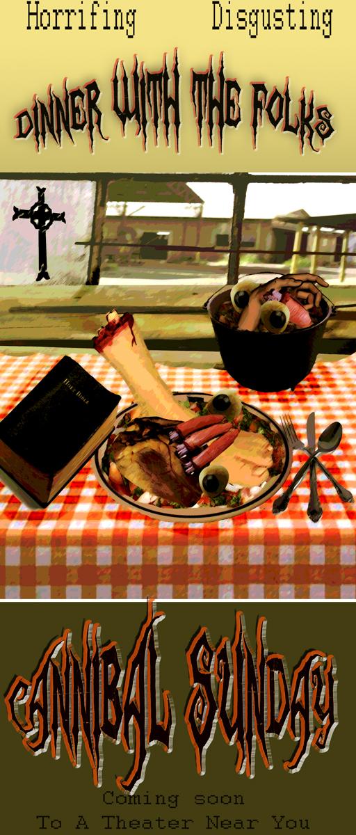 Cannibal Sunday by sparkyrat