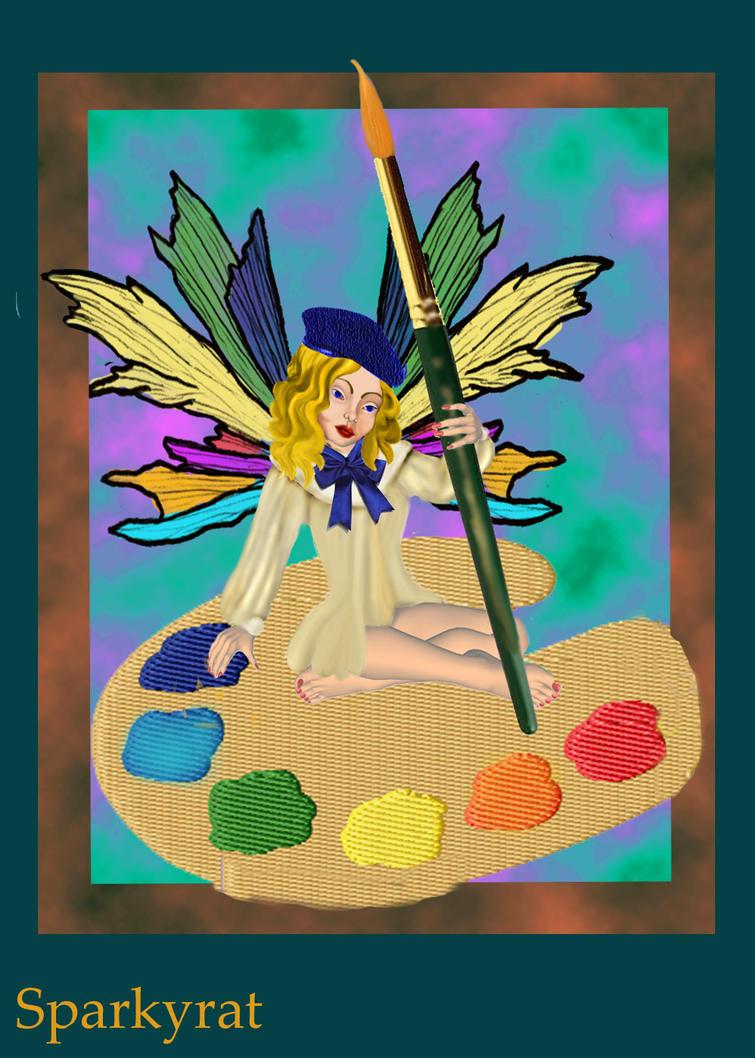 Art Fairy by sparkyrat