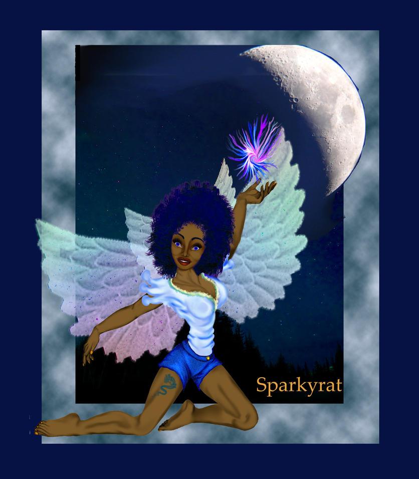 moon fairy by sparkyrat