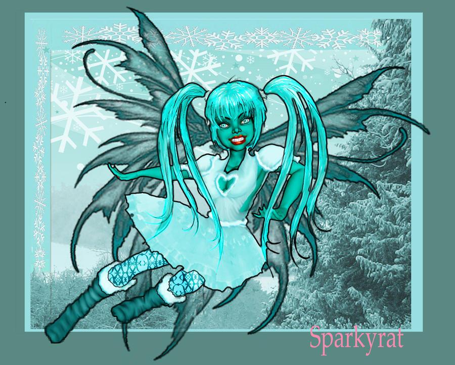 Teal Fairy by sparkyrat
