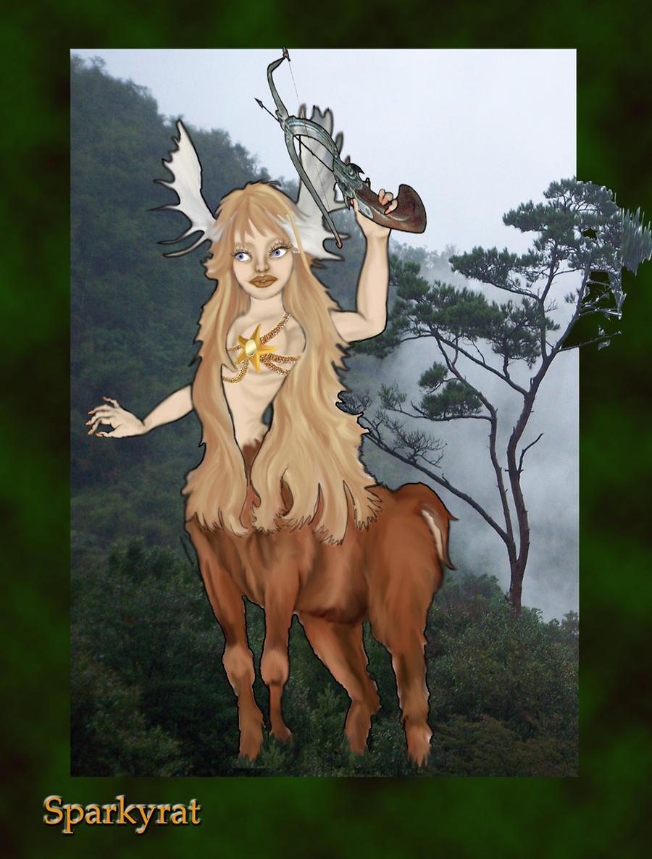 forest hunter by sparkyrat
