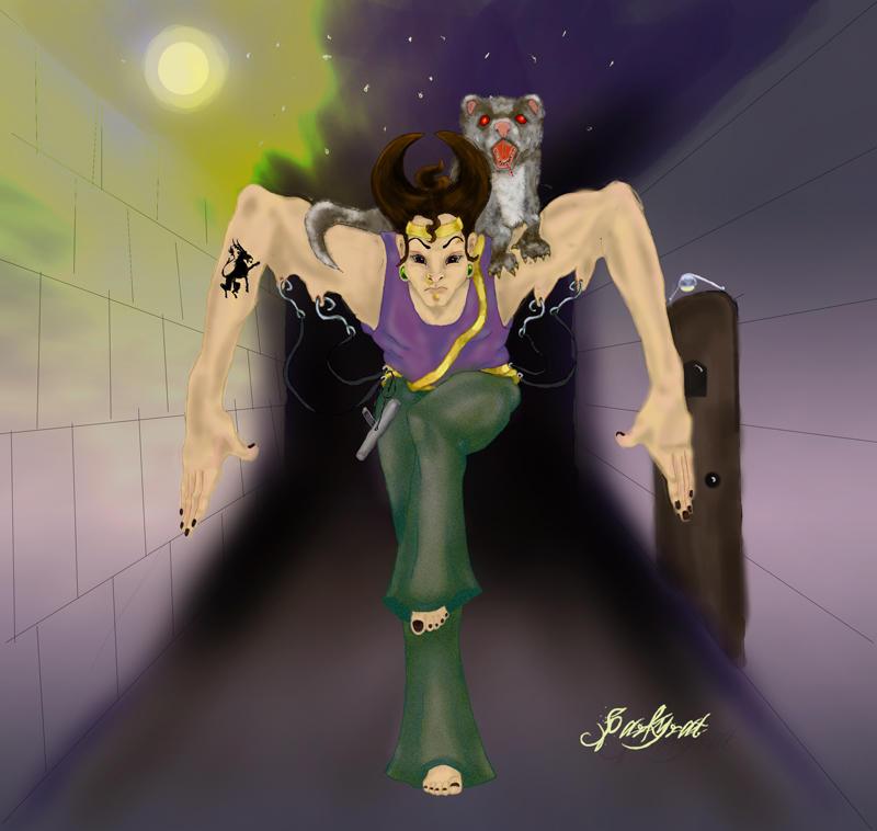 Nyu-Nya, Super Ninja by sparkyrat