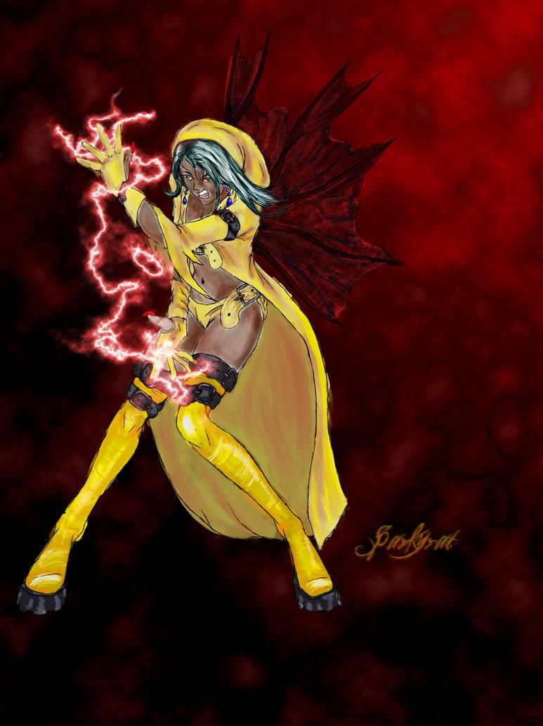 Morki, Lightening Fairy by sparkyrat
