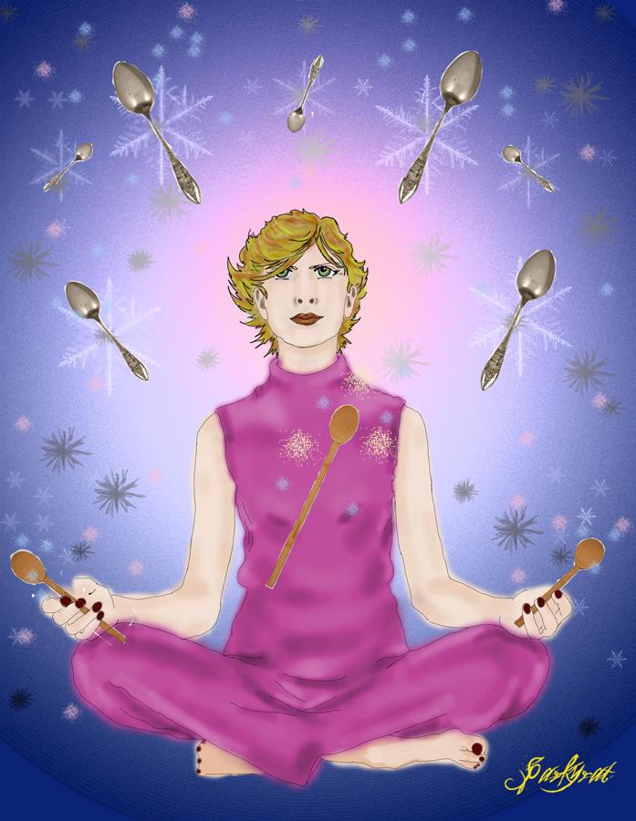 Spoon Enchanter by sparkyrat