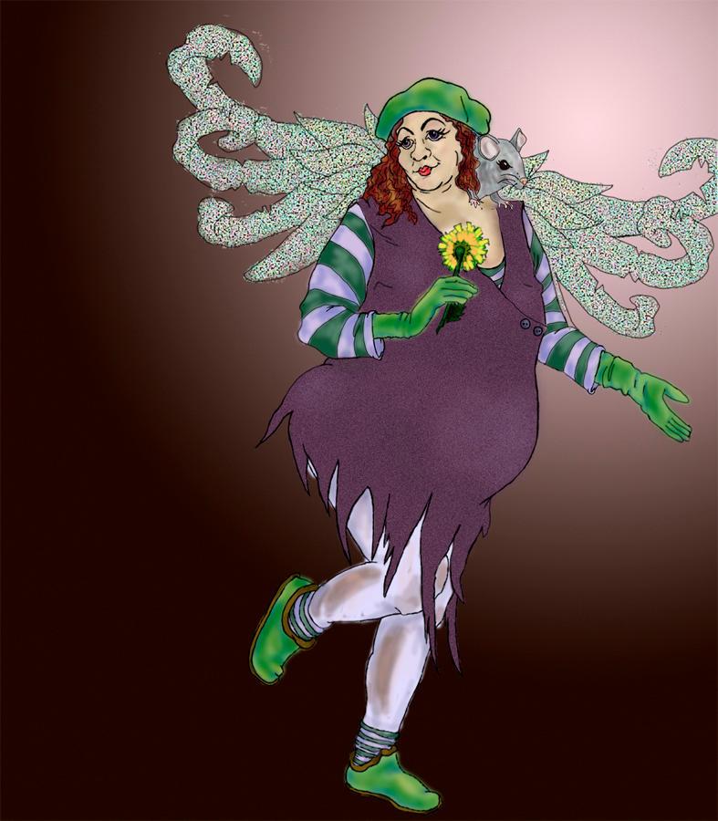Rat Fairy by sparkyrat