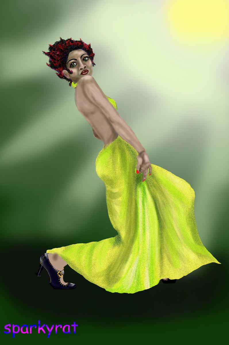 Dancer by sparkyrat