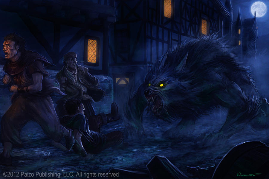 Werewolf by Satibalzane