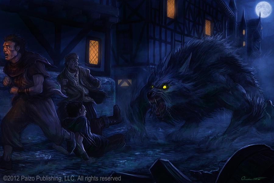 Werewolf by Satibalzane on DeviantArt