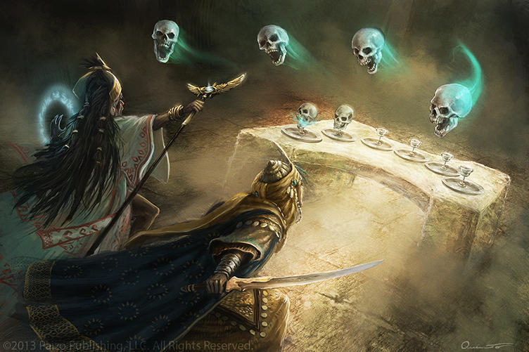 Pathfinder Art - Beheaded by Satibalzane