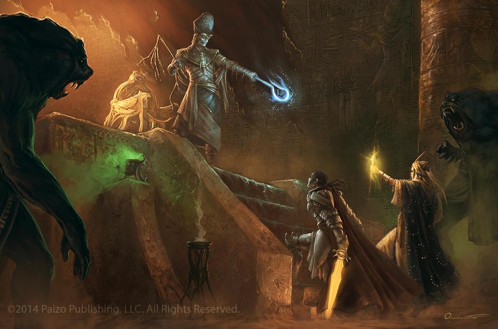 Throne of Hakotep by Satibalzane