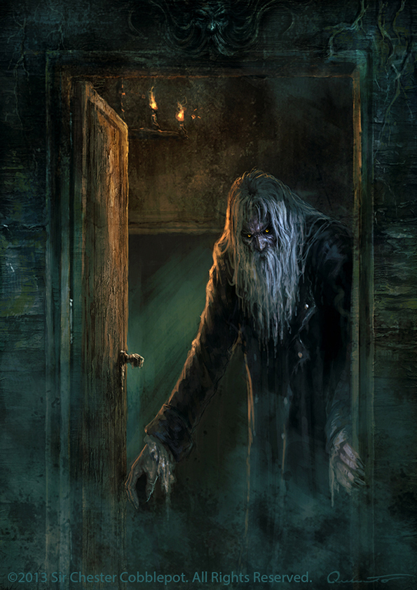 The Terrible Old Man By Satibalzane On Deviantart