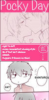 [ShinA-ya] Pocky Day 11.11 [KageProXShuuen] by Qisloid