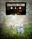 Follow the white rabbit.