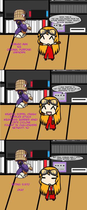 Lilina Reviews Robot Masters 64