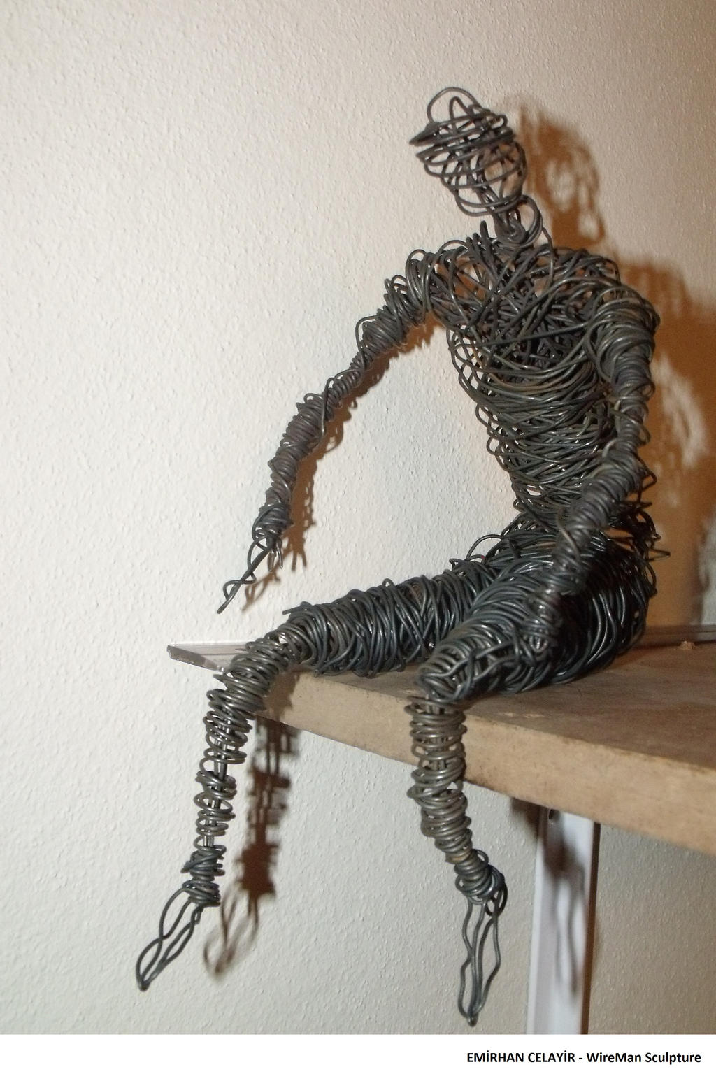 Wire Man Sculpture by existentialistcat on DeviantArt