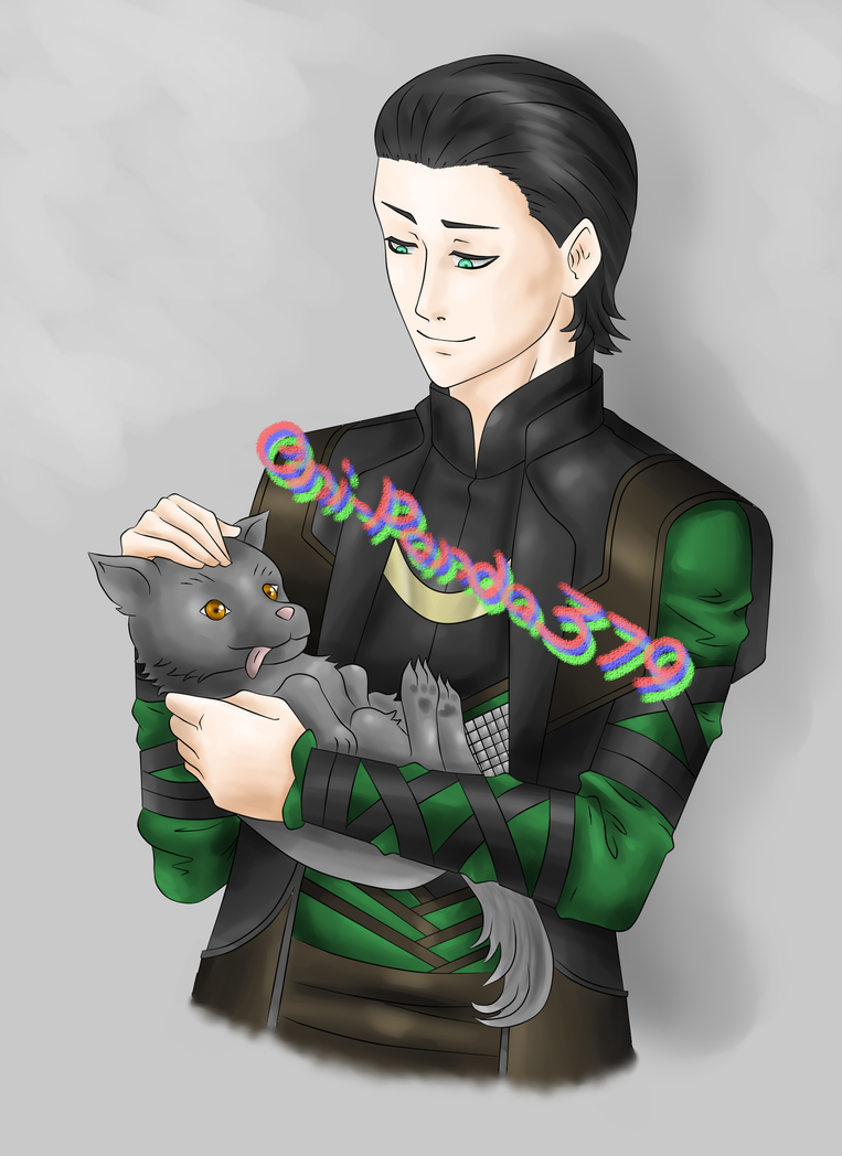 Loki and Fenrir by TwilightKeyblade928 on DeviantArt |Loki Fenrir