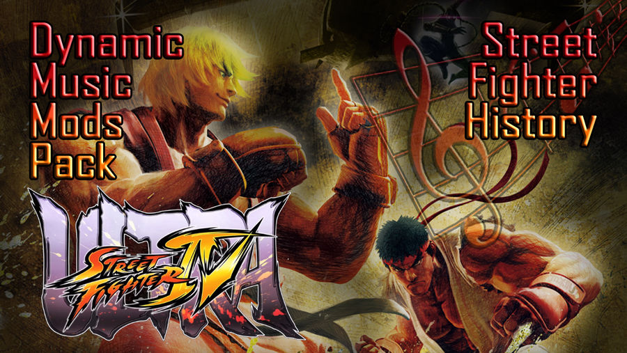 USF4 Dynamic Music Mods - Old Themes pack V1 0 by