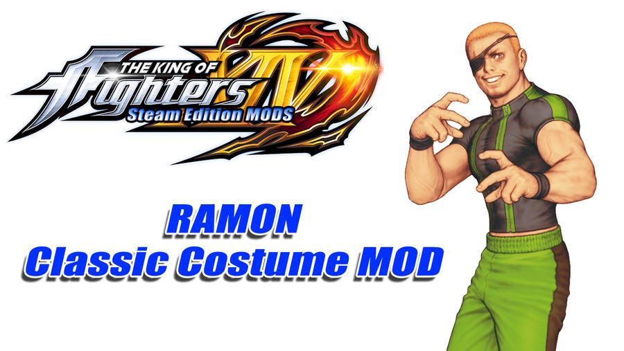 KOFXIV MODS - RAMON Classic Costume by ATRyoSakazaki on DeviantArt