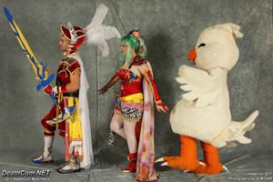 Final Fantasy March by NsomniacArtist