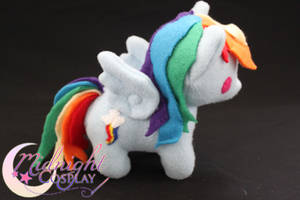 Rainbow Dash Plush by NsomniacArtist
