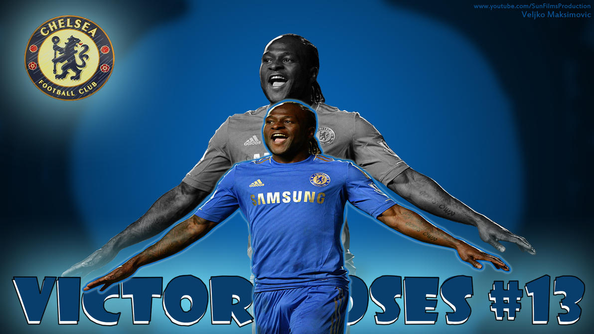 Victor Moses Chelsea Wallpaper (1920x1080) By Sunarts1 On