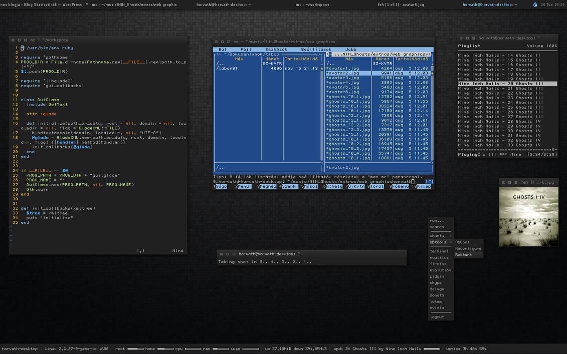 Openbox-Desktop 2009-01-20