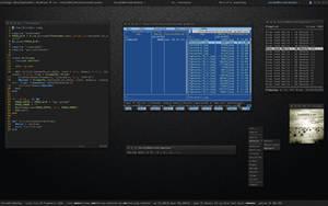 Openbox-Desktop 2009-01-20 by Jaanos