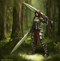 Female armor concept