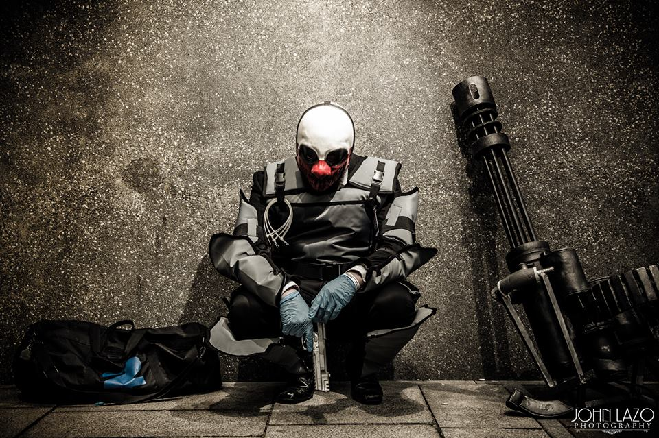 Payday 2 Wolf cosplay ...