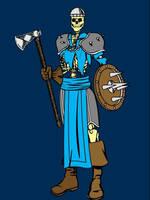 Skeleton Warrior by HybridMorality