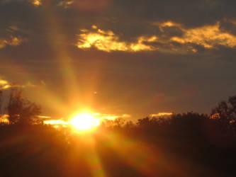 10.17.10 Houston Sunrise by Lala-Yala
